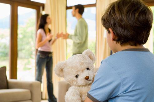 Rozvod dítě